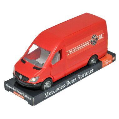 """Автомобіль """"Mercedes-Benz Sprinter"""" вантажний (червоний ) на планшетці, Tigres"""