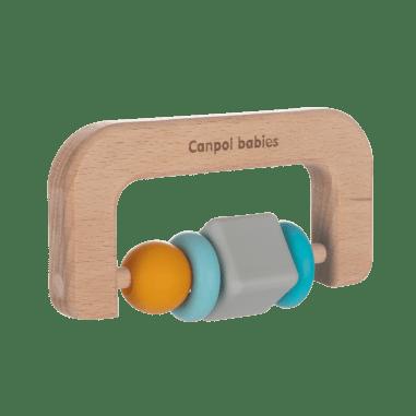 Canpol babies Іграшка-прорізувач (дерев'яно-силіконова)