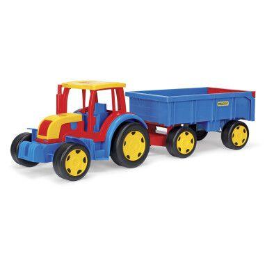 """Трактор """"Гігант"""" з причіпом"""