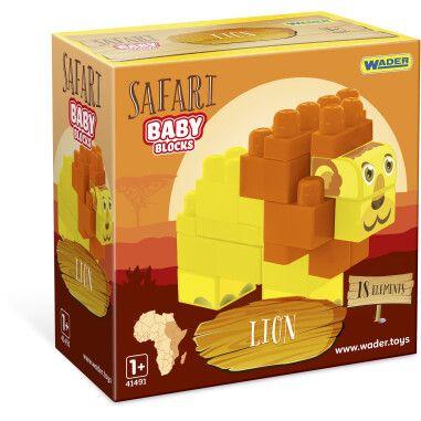 """Baby Blocks"" конструктор Сафарі - лев"
