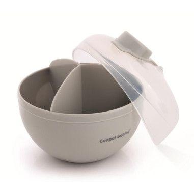 Canpol babies Контейнер для зберігання сухого молока - сірий