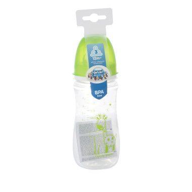 Пляшка з широким отвором антиколікова Easystart - Кольорові звірята 120 мл