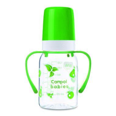 Пляшка 120 мл з ручкою (BPA FREE)