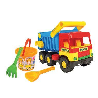 """""""Middle truck"""" з набором для піску 4 ел."""
