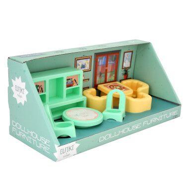 Набір меблів для ляльок (вітальня) 8 ел., ELFIKI