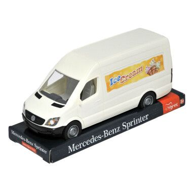 """Автомобіль """"Mercedes-Benz Sprinter"""" вантажний (білий) на планшетці, Tigres"""