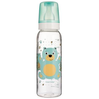 """Пляшка 250 мл з малюнком (BPA FREE), колекція """"Веселі звірята"""""""
