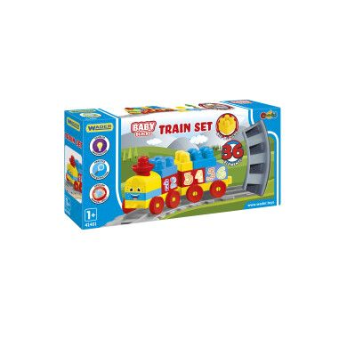 """""""Baby Blocks"""" залізниця 1,45м - 36ел."""