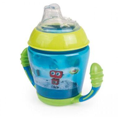 Canpol babies Кружка непроливайка з м'яким силіконовим носиком 230 мл Toys - бірюзова