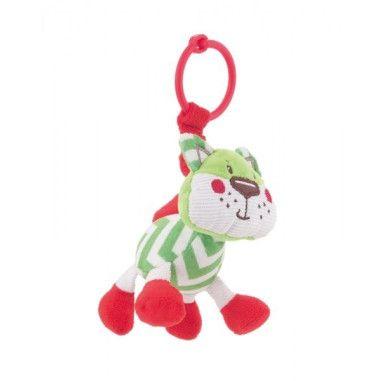 """Іграшка-брязкальце м'яка """"Лісові друзі"""""""