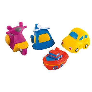 Іграшка для купання Транспорт 4 шт.