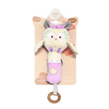 Іграшка - брязкальце сова Miя, ELFIKI