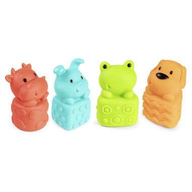 Canpol babies Іграшка для купання Звірята 4 шт.