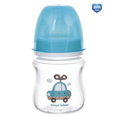 Пляшка з широким отвором антиколікова Easystart - Toys