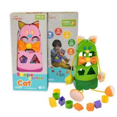 """Розвиваюча іграшка-сортер """"Котик"""""""