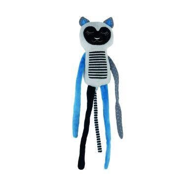 Canpol babies Іграшка плюшева сплячий лемур 0+ Jungle - синя
