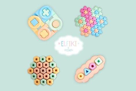 Фото - Еко іграшки «ELFIKI end friends» - дбаємо про безпеку дітей та навколишнє середовище