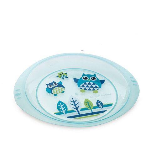 Тарілка пластикова