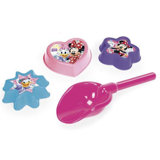 Лопатка + 3 формочки мікс -  Disney - 6