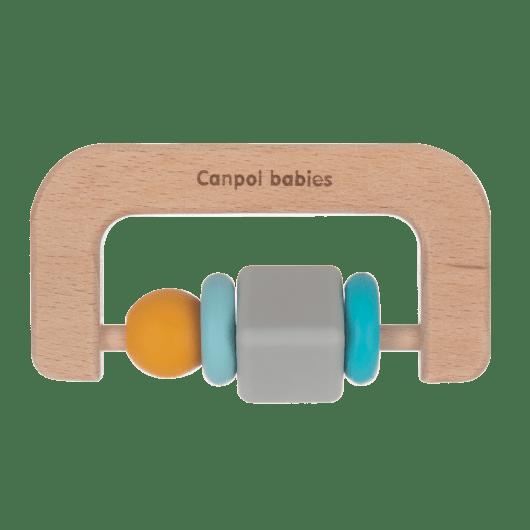 Canpol babies Игрушка-прорезыватель (деревяно-силиконовая) - 2