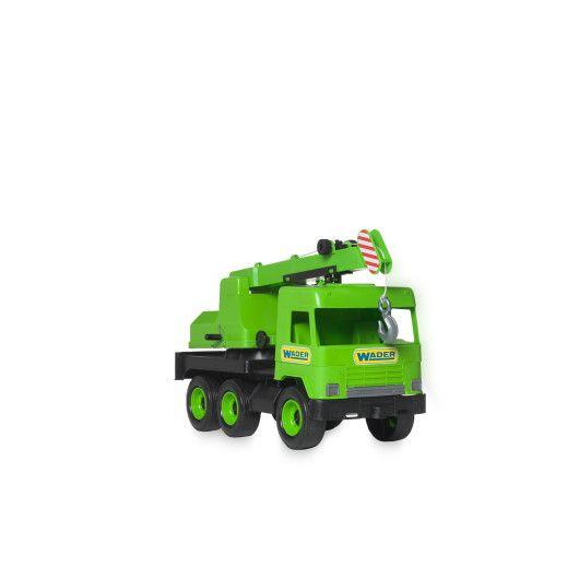 """Авто """"Middle truck"""" кран (зелений) в коробці - 4"""