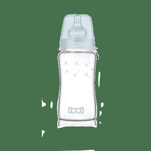 LOVI Пляшечка скляна Diamond Glass 250 мл Botanic - 2