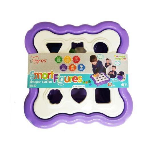 """Іграшка - сортер """"Розумні фігурки"""" 10 ел. (фіолетовий) - 3"""