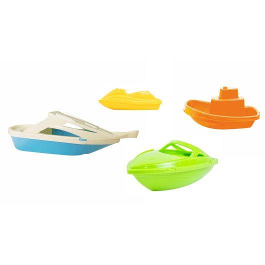 """Набір іграшок для купання """"Водний транспорт"""" 4 шт. - 2"""