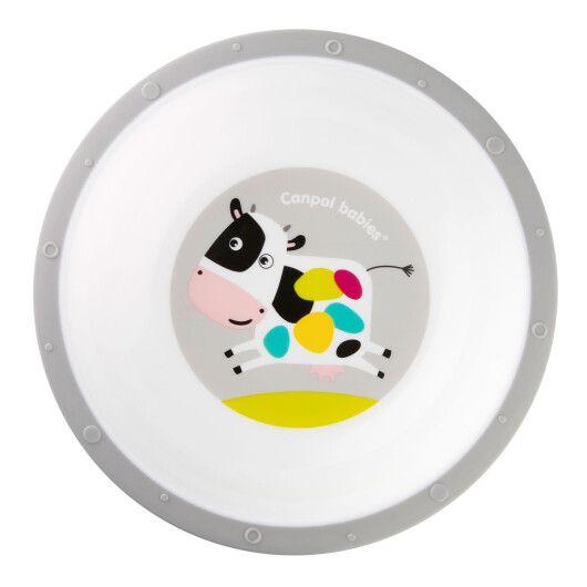 Тарiлка пластикова антипідслизгова - 3