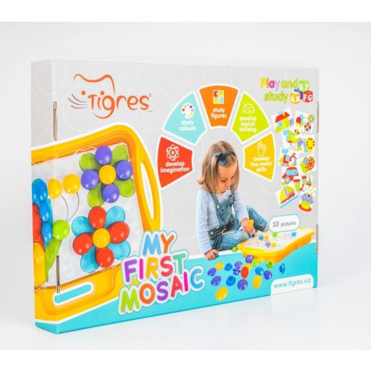 """Розвиваюча іграшка """"Моя перша мозаїка"""" - 4"""