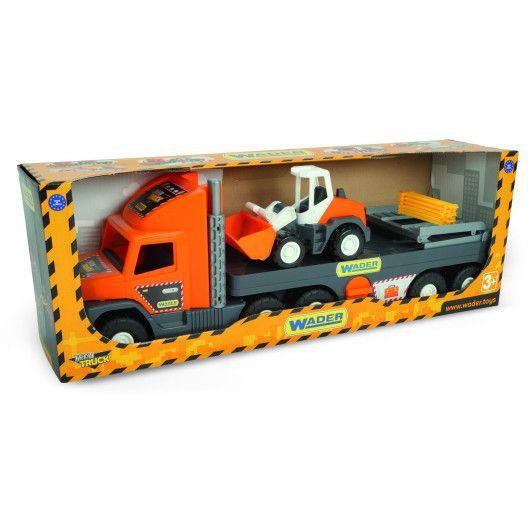 """Super Tech Truck"" з бульдозером - 2"