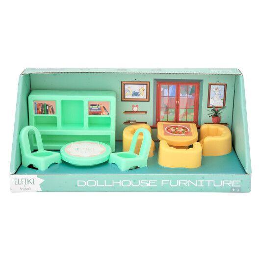 Набір меблів для ляльок (вітальня) 8 ел., ELFIKI - 2