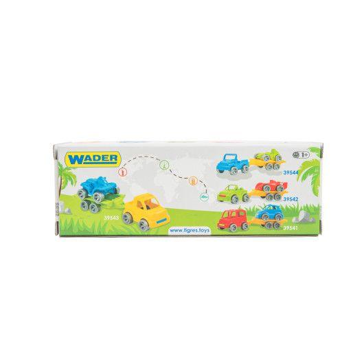 """Набір авто """"Kid cars Sport"""" 3 ел. (автобус + гольф) - 3"""