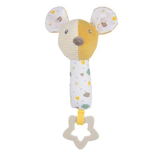 Canpol babies Іграшка плюшева з пищалкою та прорізувачем Mouse
