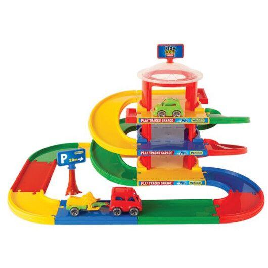 Play Tracks Garage - гараж 3 поверхи - 2