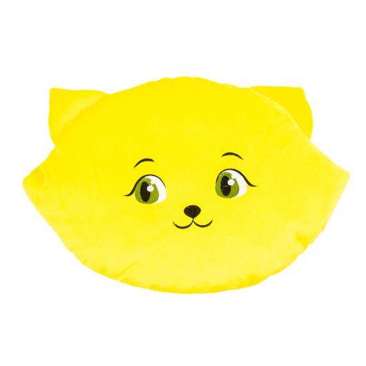 """Подушка """"Кішка-смайл"""" (45 см) - щасливий"""