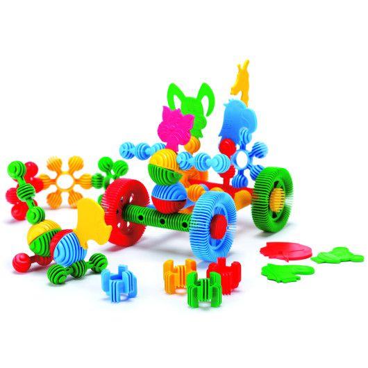 "Конструктор ""Funny blocks"" - 24 шт (мала банка) - 2"