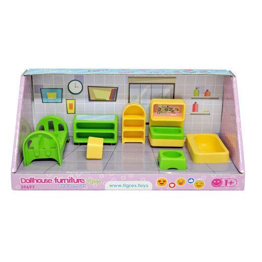 Набір меблів для ляльок (спальня) 7 ел. - 2