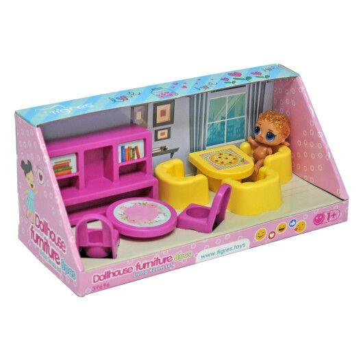 Набір меблів для ляльок (вітальня) 8 ел. - 2
