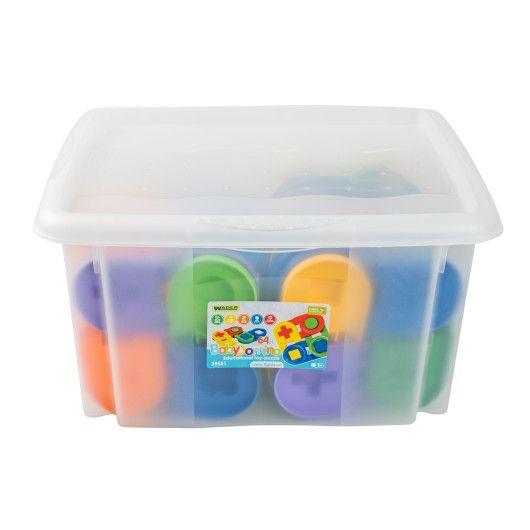 """Іграшка-пазл """"Дитяче доміно"""" 64 ел. в контейнері - 2"""