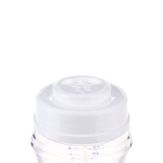 Пляшка з широким отвором антиколікова Easystart - Newborn baby 120 мл бежеві серця - 6