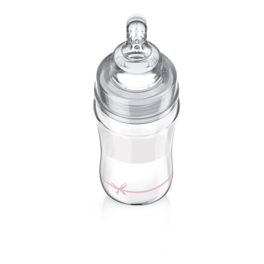 LOVI Пляшечка скляна Diamond Glass 250 мл Baby Shower - 4