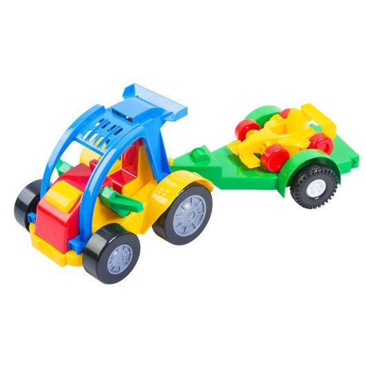 Авто-багги з причепом