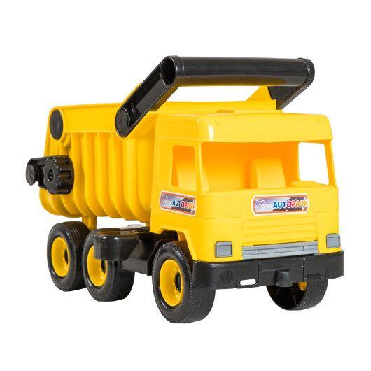 """Авто """"Middle truck"""" самоскид  (жовтий) в коробці - 3"""