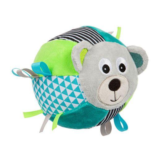 Canpol babies Іграшка-м'ячик м'яка з дзвоником BEARS - сіра