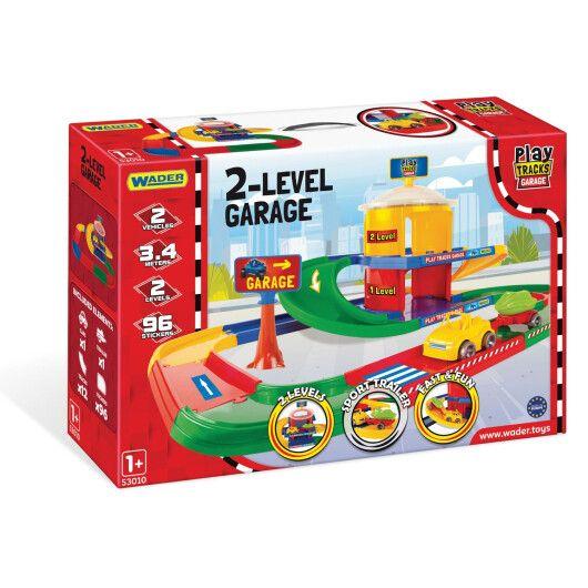 Play Tracks Garage - гараж 2 поверхи