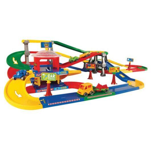 Play Tracks Garage - паркінг з трасою - 2