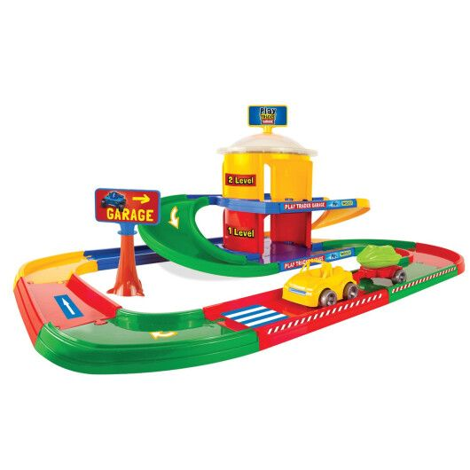 Play Tracks Garage - гараж 2 поверхи - 2