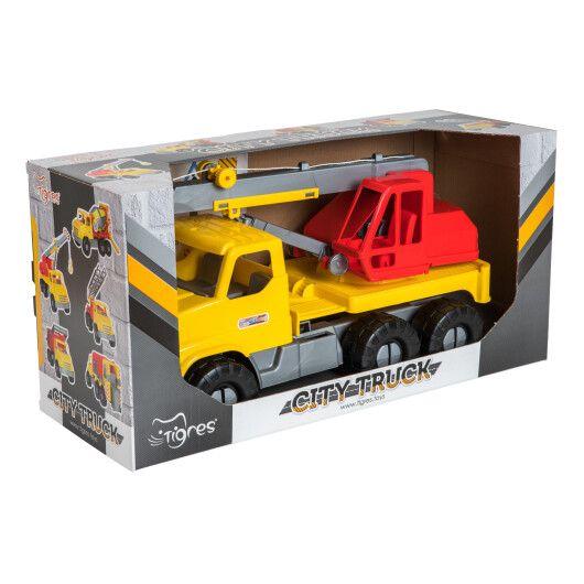 """Авто """"City Truck"""" кран в коробці"""