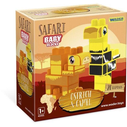 """""""Baby Blocks"""" конструктор Сафарі - страус & верблюд"""